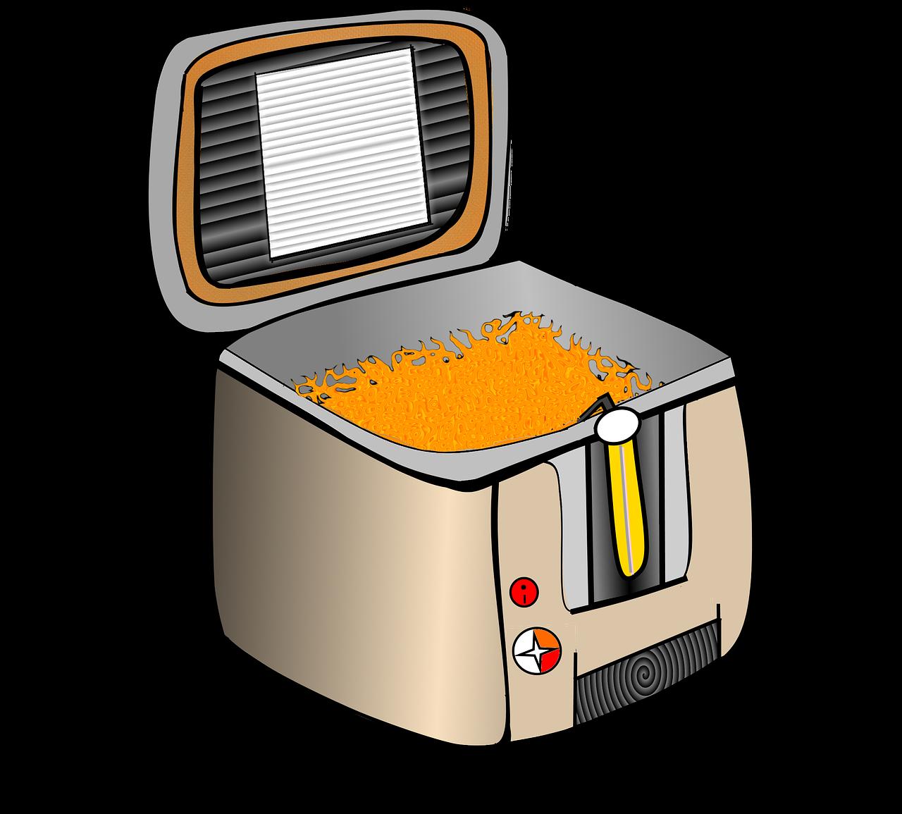 La friteuse, un accessoire rapide pour toutes vos fritures à la maison.